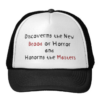 Discovering the new blood of horror hats