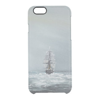 Discovery Captain Scott And Crew Clear iPhone 6/6S Case