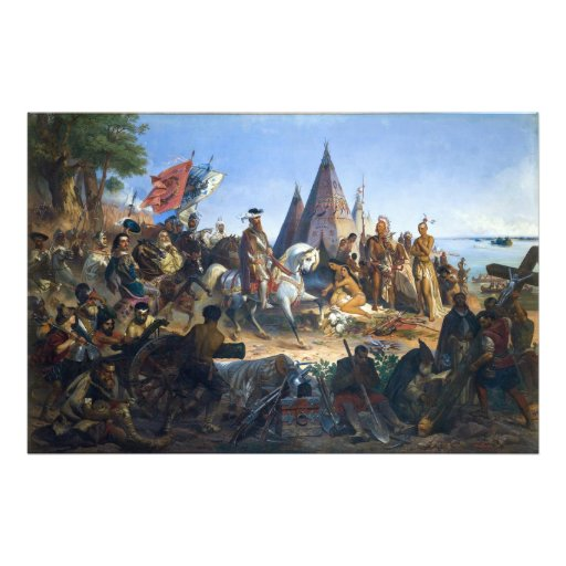 Discovery of the Mississippi by De Soto Photo Print