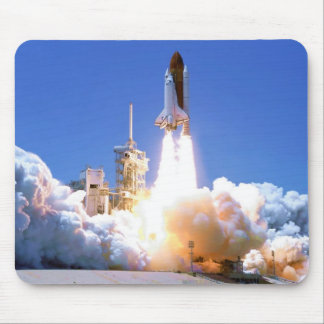 Discovery Shuttle Launch Mouse Pad