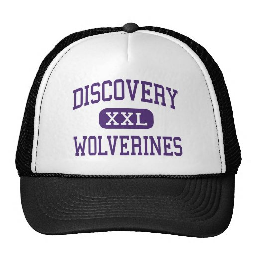 Discovery - Wolverines - Alternative - Wyoming Mesh Hats