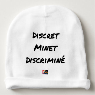 DISCRETE DISCRIMINATED PUSSY - Word games Baby Beanie