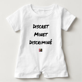 DISCRETE DISCRIMINATED PUSSY - Word games Baby Bodysuit