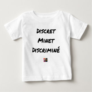 DISCRETE DISCRIMINATED PUSSY - Word games Baby T-Shirt