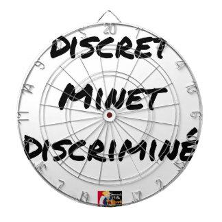 DISCRETE DISCRIMINATED PUSSY - Word games Dartboard