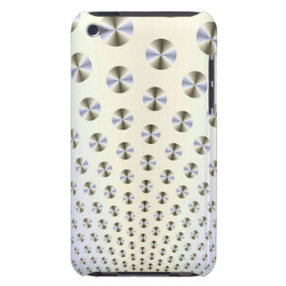 Discs in White and Blue iPod Case-Mate Cases