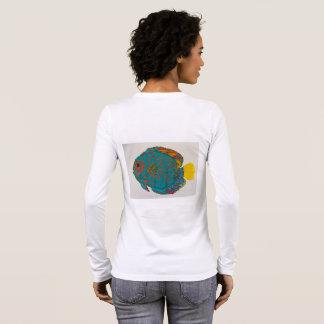 Discus fish tee shirt