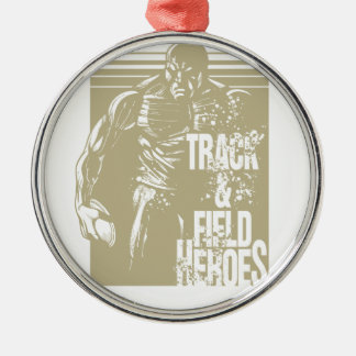 discus hero metal ornament