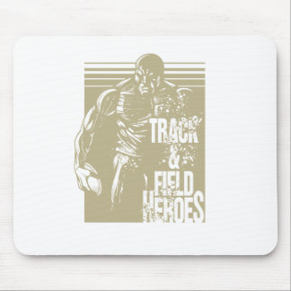 discus hero mouse pad