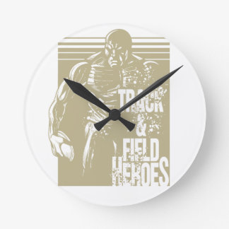 discus hero round clock
