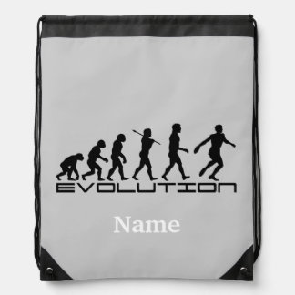Discus Sports Personalized Drawstring Bag