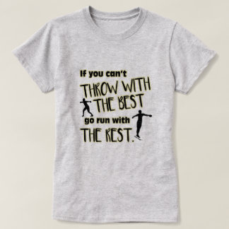 Discus- Throw With The Best Women's Shirt