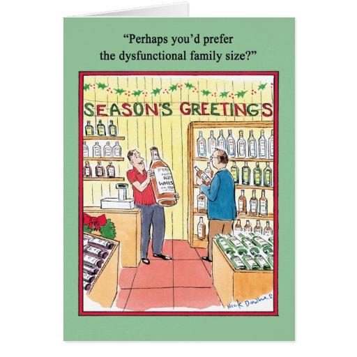 Disfunctional Family Humor Greeting Card