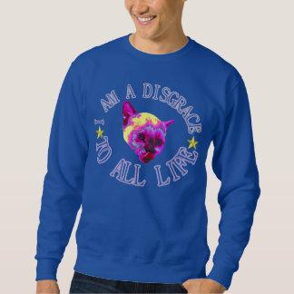 disgrace (cat) sweatshirt