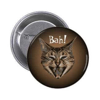 Disgruntled Cat Badge