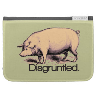 Disgruntled Pig Kindle Case