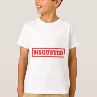 Disgusted Stamp T-Shirt