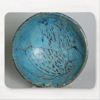 Dish decorated with fish (faience) mouse pad