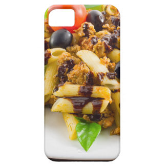 Dish of Italian pasta rigatoni with bolognese Case For The iPhone 5