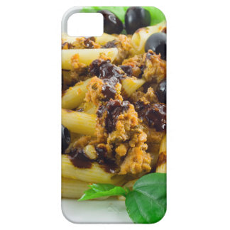 Dish of Italian pasta with bolognese sauce Barely There iPhone 5 Case