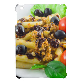 Dish of Italian pasta with bolognese sauce Case For The iPad Mini