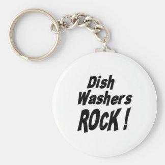 Dish Washers Rock! Keychain