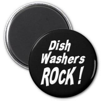 Dish Washers Rock! Magnet