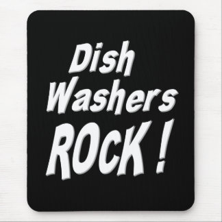 Dish Washers Rock Mousepad