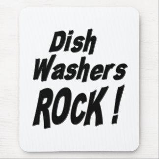 Dish Washers Rock! Mousepad