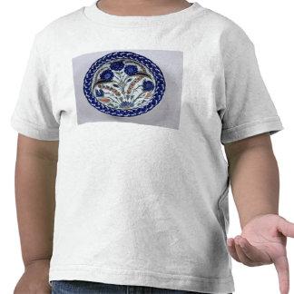Dish with a floral decoration, Iznik T Shirts