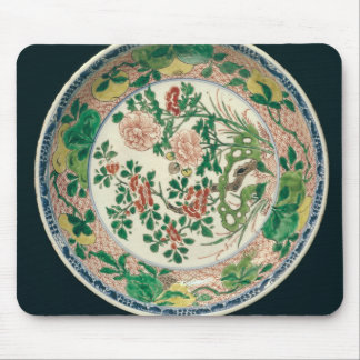 Dish with famille verte decoration mouse pad