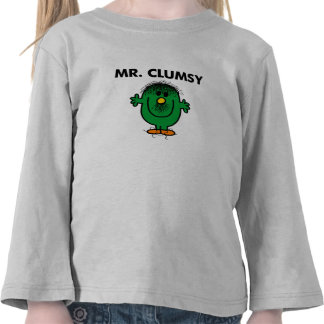 Disheveled Mr. Clumsy Tees