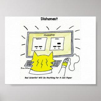 Dishonest: Bad Scientist Poster