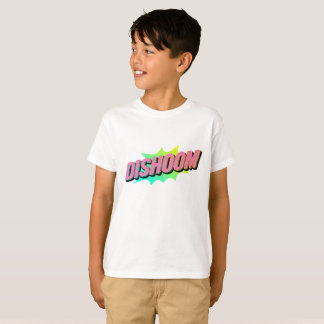 Dishoom- kids white shirt