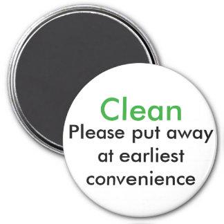 Dishwasher Magnets Clean