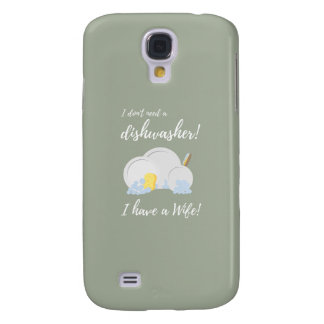 Dishwasher Women Funny Samsung Galaxy S4 Cases