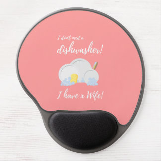 Dishwasher Women Funny Zv6ru Gel Mouse Pad