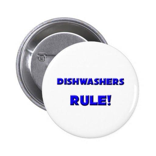 Dishwashers Rule! 6 Cm Round Badge