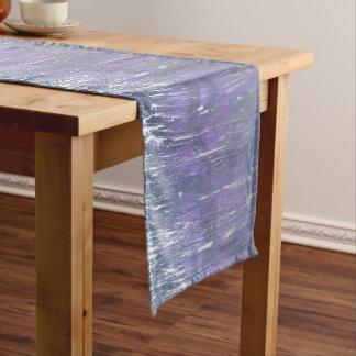 Disillusioned Table   Unique Purple Plum Silver Medium Table Runner