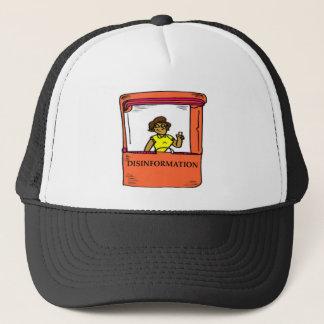 DISINFORMATION TRUCKER HAT