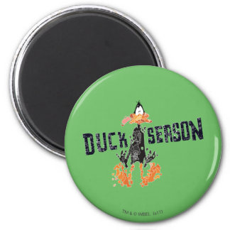 "Disintegrated DAFFY DUCK™ ""Duck Season"" Magnet"