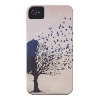 Disintegrating Tree iPhone 4 Case
