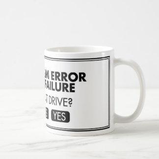 DISK ERROR COFFEE MUG