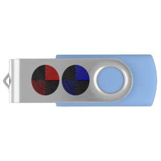DISK WHEELS 8-64 USB 3.0 Swivel USB Flash Drive Swivel USB 3.0 Flash Drive