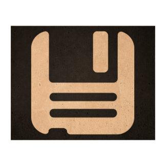 Diskettes Minimal Cork Fabric