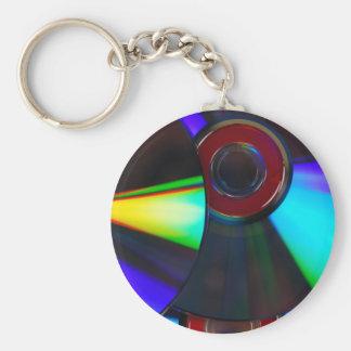 Disks Key Chain