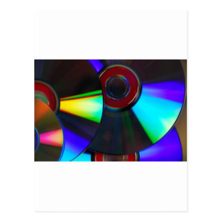 Disks Postcard