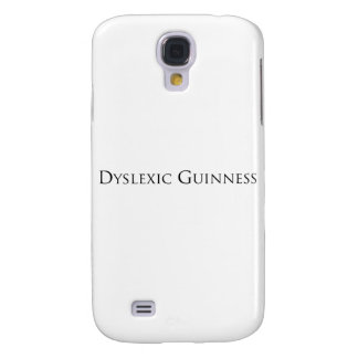 dislexic guiness- black png galaxy s4 case