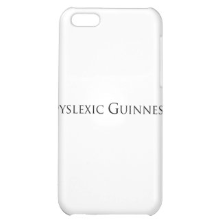 dislexic guiness- black png iPhone 5C covers