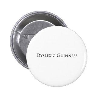 dislexic guiness- black png pins